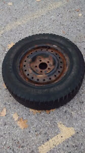 Winter tires on rims for Montana 215 70 15 London Ontario image 3