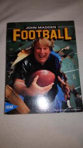 John madden Football pc IBM 5.25 floppy disk