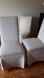 4 dining chair's  (New) price  dropped!