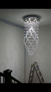 Limited time offer - 8 feet crystal chandelier