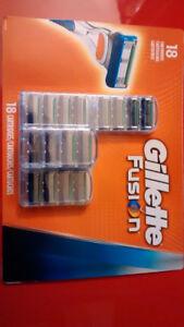 Gillette Fusion blade 18 cartridges pack