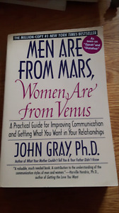 1994 Men Are From Mars, Women Are From Venus Book.