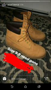 Men's timberland boots for cheap(like new)