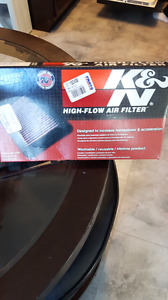 K&n air filter for r1