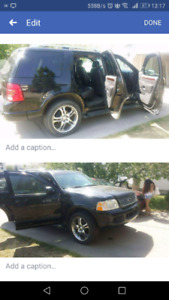 2 Ford Explorer Sask Plated and Alberta Plated for sale