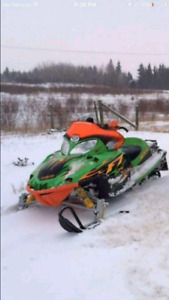 2004 Arctic Cat Firecat F7