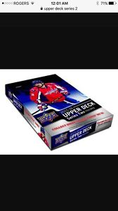 UPPERDECK 2015-16  SALE !! ALL CARDS MUST GO!!!