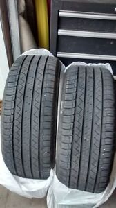 2- MICHELIN TIRES 235/50/18 REDUCED...WAS $350...NOW $275