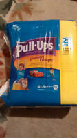 Huggies Pull-Ups Training Pants with Learning Designs size 4-5