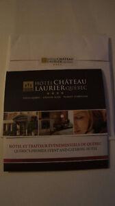 """Forfait """"Couette et café"""" Chateau Laurier Québec"""
