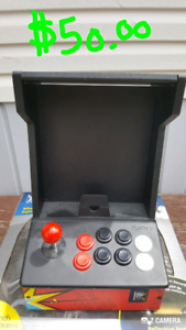iCade retro gaming stand with joystick style controls