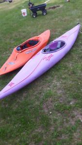 2 kayaks for sale