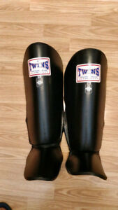 Twins Muay Thai Shin Guard (XL)