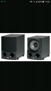 PSB SUBSONIC i6   12 inch speaker. Extreme low frequency