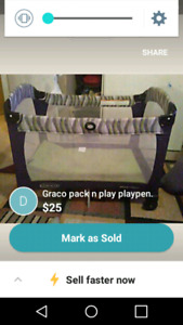 Graco pack and play pen