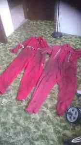 2 pair fire resistant coveralls