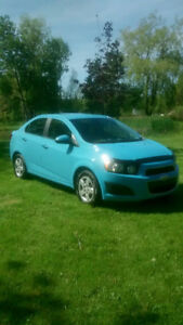 2014 Chevy Sonic Sedan LT - Super low kms!!