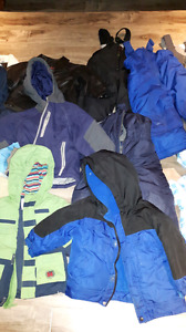 Winter, fall and spring jacket and snow pants