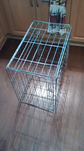 Small Dog Crate & Bed Combination $40 OBO