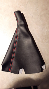 Shift Boot leather black civic SI Manual 2012-2015