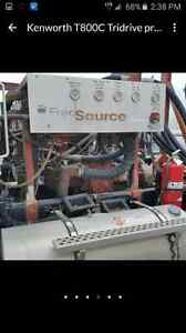 Namco dropbox with linde hydraulic pumps