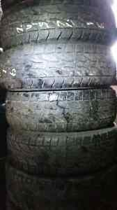 4 P245/70R16 Bridgestone Dueler AT