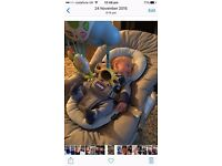 Chico baby seat bouncer vibrates and plays music