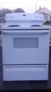 2 electric cook stoves white $100 other $50