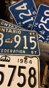 OLDER. Never car plates DOUBLES single
