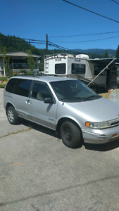 93' Nissan Quest solid needs a little work.  Need gone!