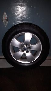 Volkswagen Jetta OEM rims and tires