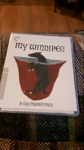 Criterion Collection My Winnipeg Blu Ray Set For Sale