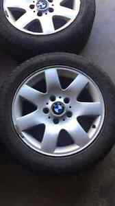Winter tires and rims for sale  Kitchener / Waterloo Kitchener Area image 1