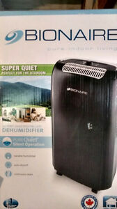 Bionaire Dehumidifier PureQuiet 25-Pint (BRAND NEW, NEVER OPENED