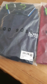 Hugo boss polo shirts different sizes