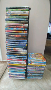 59 DVDs mostly kids and family