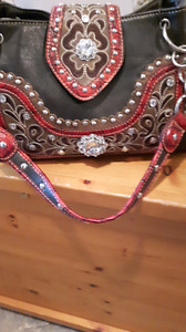 Blinged purse