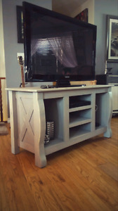 Rustic style Media stand