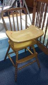 Oak High Chair at The Meetinghouse! Windsor Region Ontario image 1