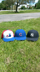 Three ball caps for sale new and Euc
