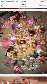 Large barbie bundle
