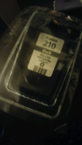 Canon pixma 210 black printer ink