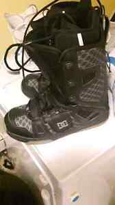 Size 11 DC snowboarding boots