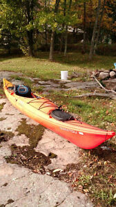 14ft Manitou Sunrise kayak.  Used once