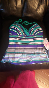 Mermaid Tankini Top size 8 med