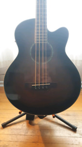Ibanez acoustic electric bass