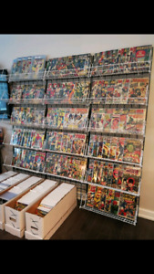 MASSIVE SILVER-MODERN MARVEL AND DC COMIC SALE!! HIGHER GRADES!!