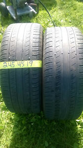 Twe 245 45 19 all season tires,