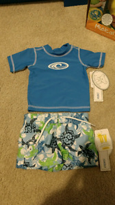 BNWT newborn swim suit