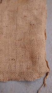 Grands sacs /poches de jute naturel rustique Burlap bags